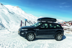 Range Rover mit Hapro Dachbox