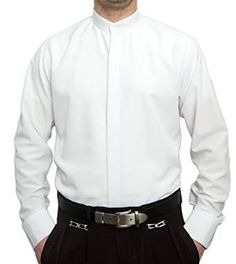 Kellnerhemd Stehkragen Bügelfrei - Kellnerhemd Stehkragen Bügelfrei