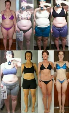 Transformation Motivation Before & After Weight Loss Fitness
