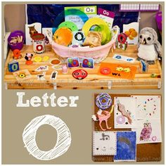 Home #Preschool Letter O from @{1plus1plus1} Carisa