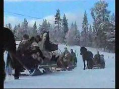 Chanson de Noel - Promenade en traîneau - Ginette Reno