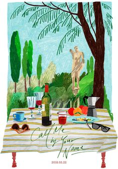 'Call me by Your Name Drawing - La Vita Bohémien' Poster by Not a Lizard Your Name Movie, Por Tras Das Cameras, Name Drawings, Name Paintings, Name Art, Film Serie, Illustrations And Posters, Call Me, Vintage Posters