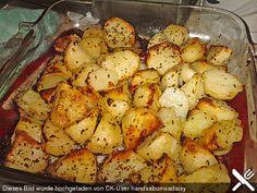 Griechische Knoblauchkartoffeln