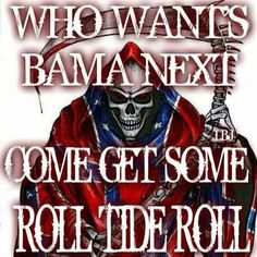 who wants bama next? Alabama Football Logo, Alabama Athletics, Michigan State Football, Crimson Tide Football, Football Memes, College Football, Football Team, Roll Tide Alabama, Alabama Crimson Tide Schedule