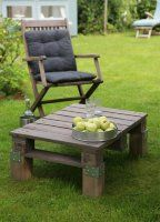 Une autre façon de détourner une palette de bois : transformez la en une table basse pour votre jardin en suivant ce petit pas à pas !