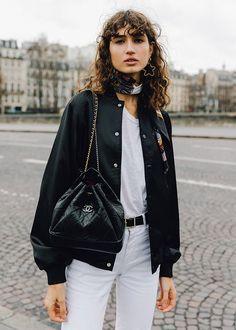 Model-Off-Duty Style With Roberta Pecoraro
