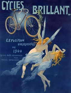 Cycles Brillant - Exposition Universelle De 1900 - H. Gray