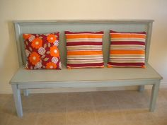 Like the style of this bench, but in reclaimed wood...