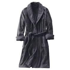 Original Penguin Mens Fleece Lined Robe Bathrobe
