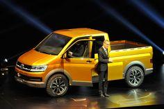 VW Tristar Studie auf der IAA Hannover: Multifunktional in die Zukunft Vw T5, Vw Doka, Vw T1 Camper, Volkswagen, Auto Motor Sport, Motor Car, Isuzu Motors, Vw Racing, Vw Group