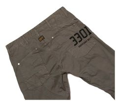 G-STAR 'LS RAPID 5620 TAPERED'; CARGO PANTS MEN'S 34, Authentic - RRP $200+