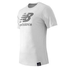 New Balance 53511 Men's Short Sleeve Logo Tee - White (MT53511WT)