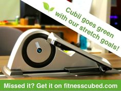 FitnessCubed is raising funds for Cubii: World's First Under-Desk Elliptical Trainer on Kickstarter! An affordable, sleek, ergonomic trainer that integrates wirelessly with mobile devices and fitness trackers to make sitting healthier Treadmill Desk, Office Exercise, Elliptical Trainer, Elliptical Workouts, Innovation Strategy, Sedentary Lifestyle, Workout Machines, Exercise Machine, Get Moving