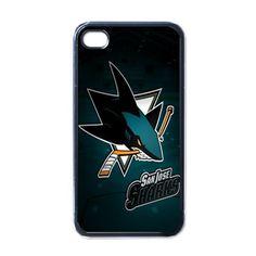 Apple iPhone Case - NHL San Jose Sharks Team Logo - iPhone 4 Case