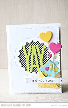 MFT's January card kit Yay for You-reveal