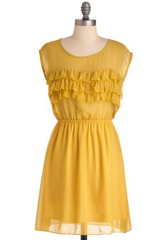 """I don't know if my bride would like this... but I think it's darling, just like the name implies """"Dandelion Darling Dress"""""""