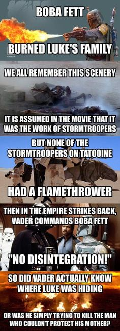 Here's an interesting Star Wars theory (not my theory, but I made it into meme form)