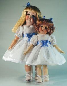 Bleuette & Rosette patterns for doll clothing  by tresbellepoupee