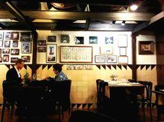 Restaurante Can Pineda. Muy recomendado como espectacular, dicen que la materia prima es de primera y el precio de lujo.