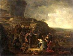 The meeting of David & Abigail