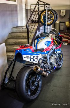 BMW S 1000 RR Cafe Sport Custom Project - Photos by Patrick Douki #motorcycles #caferacer #motos | caferacerpasion.com