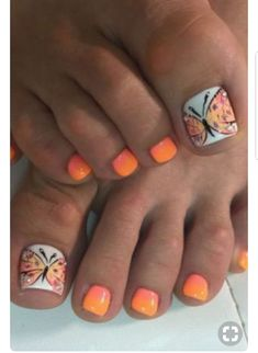 This Cool summer pedicure nail art ideas 44 image is part from 75 Cool Summer Pedicure Nail Art Design Ideas gallery and article, click read it bellow to see high resolutions quality image and another awesome image ideas. Pretty Toe Nails, Cute Toe Nails, Fancy Nails, Toe Nail Art, Gorgeous Nails, Acrylic Nails, Coffin Nails, Pretty Toes, Nail Nail
