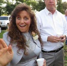 Michelle (mother of bride) 's dress at Jill Michelle Duggar Dillard's wedding.