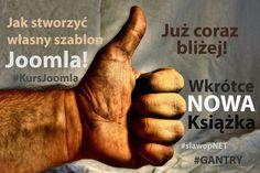 """Prace nad kolejną 📖 z serii """"Jak stworzyć własny szablon do #Joomla!"""" już prawie, prawie dobiegają do końca :-) Na warsztacie framework #Gantry Robię wszystko, aby wyrobić się do końca tygodnia Jak to fajnie, że jest dłuuugi weekend ;-) #KursJoomla #KursJoomlaGANTRY"""