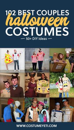 This is a great list if you are looking for unique couples costumes! So many fun…