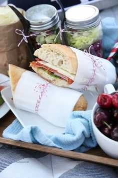 Recipe Ideas| How to Make Italian Sandwiches| We love making Italian Sub Sandwiches and they make the perfect picnic lunch or dinner!