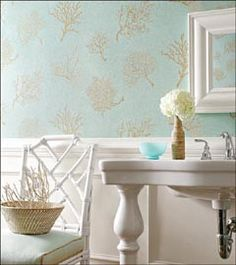 powder room wallpaper ideas