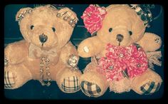Cute couple bear representing both of us :)