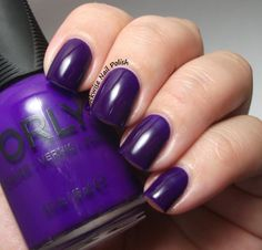 The Clockwise Nail Polish: Orly Saturated