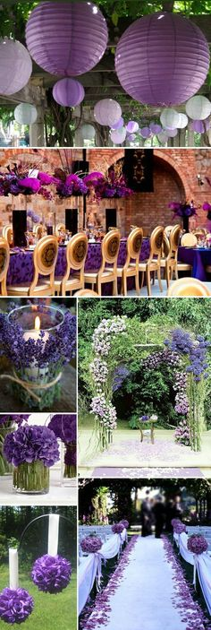 noble purple wedding