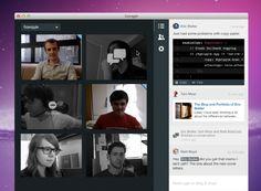 새로운 비즈니스 :간편한 그룹영상 채팅 서비스 Sqwiggle