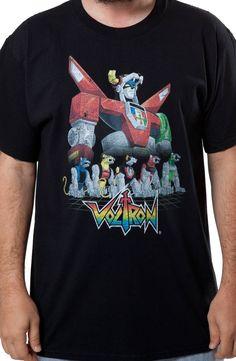 596b25655 Voltron Lions Shirt: 80s Cartoons Voltron T-shirt Voltron Shirt, Lion Shirt,