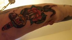 Piece done by Stuy on one of our regulars
