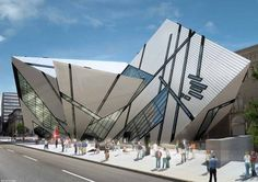 Royal Ontario Museum, Toronto, Daniel Libeskind, 2007 Not all postmodern architecture is contextualize.