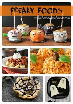 Freaky Food: 20 Halloween Recipes