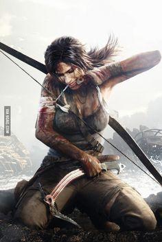 "Awesome Tomb Raider ""Lara Croft"" Drawing"