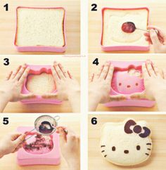 Hello Kitty. I need to get one of these molds.