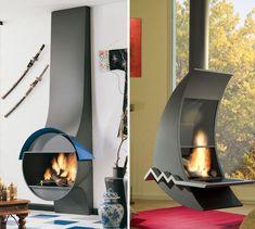 Bordelet fireplaces Luna and Liza