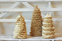 Image result for Burlap/christmas/crafts
