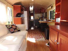 Tiny House on Wheels School Bus Conversion