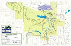 Interactive Duluth trails map