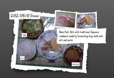 For Dinner on 10/Aug/2012
