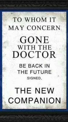 Bad Wolf Doctor Who, Doctor Who Companions, 12th Doctor, Bbc America, Happy Tears, Torchwood, Blue Box, Back To The Future, Dr Who