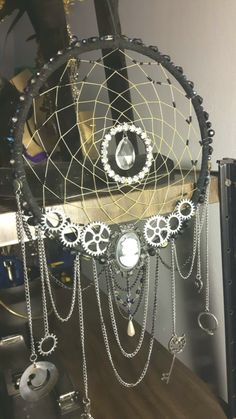 Your place to buy and sell all things handmade Dream Catcher Craft, Black Dream Catcher, Dream Catcher Mobile, Diy Projects To Try, Craft Projects, Fun Crafts, Diy And Crafts, Diy Inspiration, Nativity Crafts