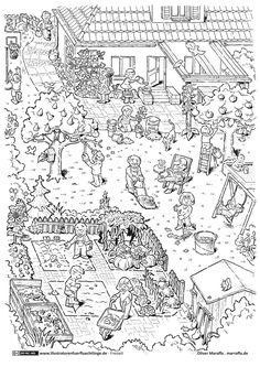 Download als PDF:Freizeit – Garten gartenarbeit Draußen Spielen
