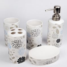 mosaic bathroom accessories - Google Search